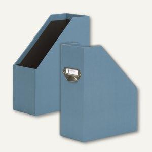Uni-Smoky Blue Stehsammler mit Griff