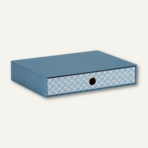 Twist - Smoky Blue Schubladenbox für DIN A4
