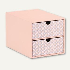 Rössler Frame - Apricot 2er Schubladenbox für DIN A5, 2 Stück, 15241169002