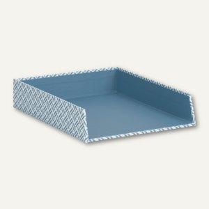 Twist - Smoky Blue Ablagekorb für DIN A4