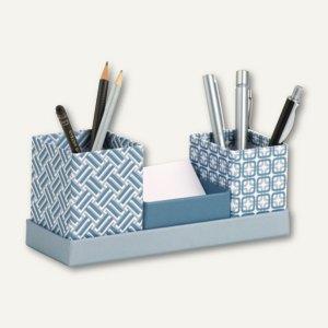 Schreibtisch-Organizer SMOKY BLUE