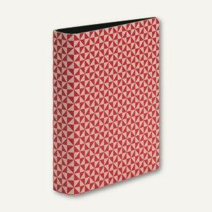 Rössler TRIANGLE Magenta - Ringbuch, DIN A5, 2 Ringe, 25mm, 3er Pack,13161179003