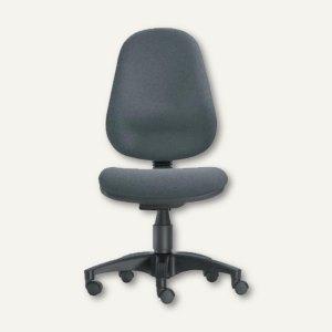 Gernot Steifensand Drehstuhl Basis - Sitzhöhe: 42-56 cm, Stoff, grau, 4005-108