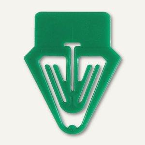 Laurel Kartenreiter Tab für Karteikarten, PS, 25 mm, grün, 30 Stück, 0017-60