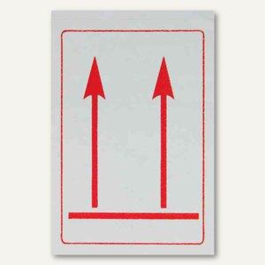 "Hinweisetikett Versandkartion ""Top"" - 74 x 105 mm, selbstklebend, 5 St., 2551402"