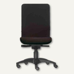 Designerstuhl NET - Sitzhöhe: 46-56 cm, Stoff, schwarz, 1600-109