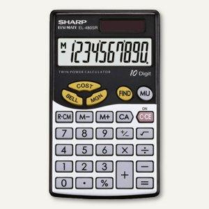 Kosten Margen Taschenrechner EL-480SR