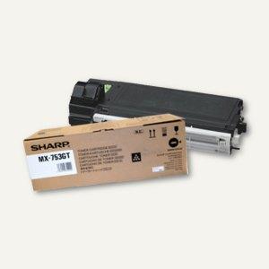 Sharp Toner MX-753GT, ca. 83.000 Seiten, schwarz, MX753GT
