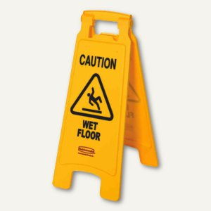 Warnschild Caution Wet Floor