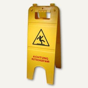 Artikelbild: Warnschild Achtung Rutschgefahr