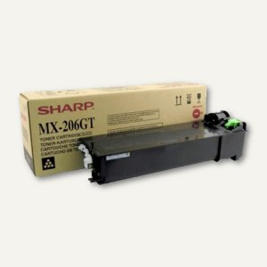 Sharp Toner-Kit MX-206 NT, ca. 16.000 Seiten, MX206GT