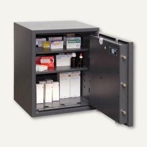 Wertschutzschrank Lyra 3 (Klasse 0) - 605x500x420 mm, 76 kg, graphit