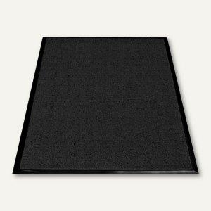miltex Schmutzfangmatte Looper, Außenbereich, 60 x 91 cm, schwarz, 32003