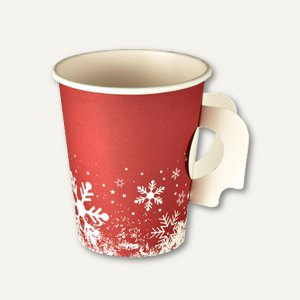 Trinkbecher mit Henkel Winter Time