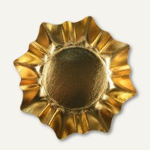"Papstar Pappteller ""Weihnachten"", sternform, Ø 29 cm, gold, 60 Stück, 11179"
