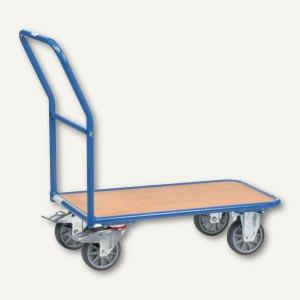 fetra Magazinwagen - 1.030x505 mm, Tragkraft: 400 kg, blau, 2100
