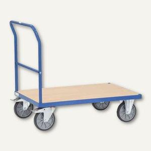 """fetra Plattformwagen """"MultiVario"""" - 1.320x809 mm, Tragkraft: 600 kg, blau, 2503"""