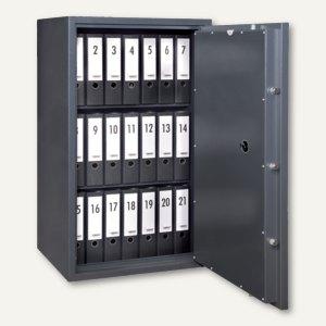 Stahlbüroschrank SB Pro 40 - 1.200x700x550 mm, 73 kg, graphit, 012801-60000