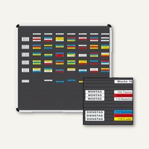Ultradex Planrecord Stecktafel, 38 Steckbahnen, 125 x 52 cm, 1038