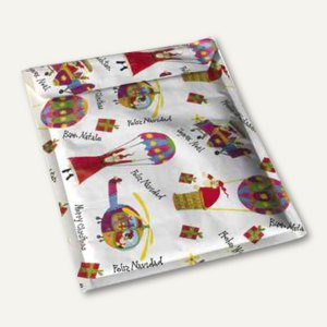Weihnachts-Luftpolstertaschen 200 x 275 mm