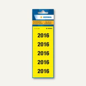 Ordner-Inhaltsschild Jahreszahlen 2016