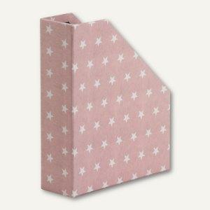 Rössler STELLA - Stehsammler für DIN A4, rosé, 3 Stück, 13181188000