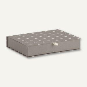 STELLA Memorybox, 305 x 215 x 50 mm, für DIN A4, grau, 2 Stück, 14511187000