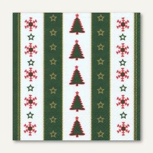 Servietten Christmas Banner