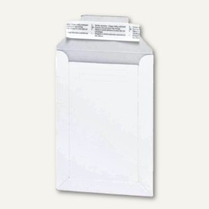 Buchbox-Versandtaschen Z4, 250 x 353 mm, Duplexkarton, weiß, 100 Stück, 88026502