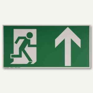 Hinweisschild - Rettungsweg nach oben