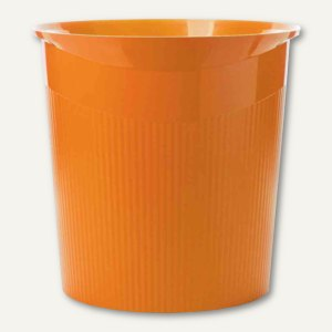 HAN Papierkorb LOOP Trend Colour - 13 Liter, rund, Höhe: 287 mm, orange,18140-51