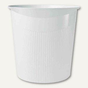 HAN Papierkorb LOOP - 13 Liter, rund, Höhe: 287 mm, weiß, 18140-12