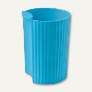 HAN Stifteköcher LOOP - 73x73x100 mm, Kunststoff, blau i-colour, 17220-44