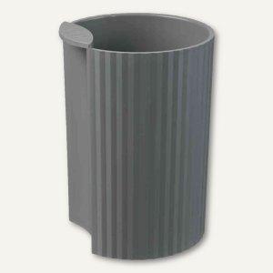 HAN Stifteköcher LOOP - 73x73x100 mm, Kunststoff, dunkelgrau, 17220-191