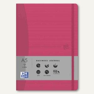 "Oxford Signature Notizbuch ""For Women"" - DIN A5, kariert, fuchsia, 400049431"