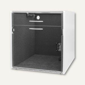 Schallschutzhaube f. Laserdrucker, Innen B 520 x T 600 x H 600 mm, geteilter Dec