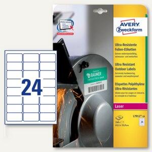 Folien-Etiketten - ultra-resistent