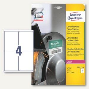 Artikelbild: Folien-Etiketten - ultra-resistent
