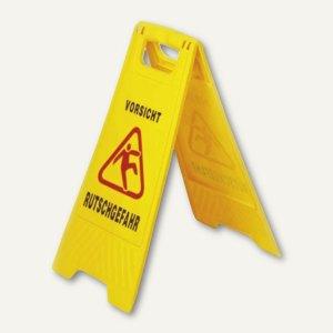 GVS-Warnschild Vorsicht Rutschgefahr - Höhe: 57 cm