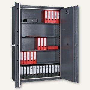 Datensicherungsschrank Paper Star Pro 6 - 1.1840x1.260x468 mm, 880kg, 2türig, gr