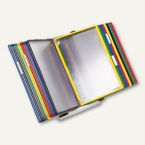 Tarifold Tischsichttafelsystem Metall, DIN A4, 30 Tafeln, lichtgrau, 434309