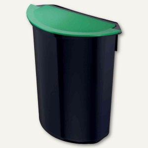 """Zwingo Abfalleinsatz """"integral"""" - 7 Liter, 282x147x320 mm, schwarz/grün,Z1441094"""