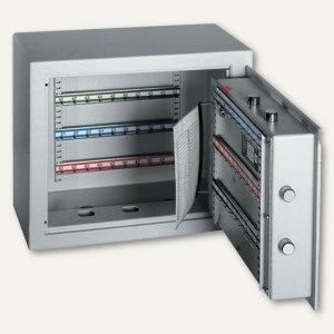 Schlüsseltresor ST 70 - 70 Haken, 436x459x120 mm, 22 kg, grau, 001301-00000