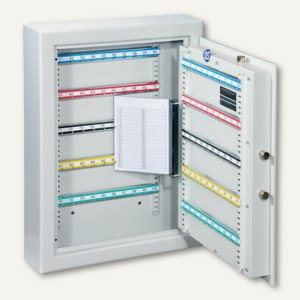Schlüsseltresor ST 100 - 100 Haken, 636x460x120 mm, 35 kg, grau, 001302-00000