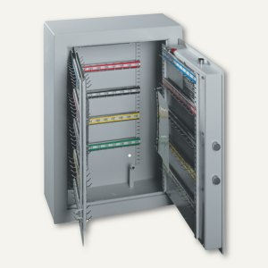 Schlüsseltresor ST 200 - 200 Haken, 636x460x206 mm, 44 kg, grau, 001304-00000