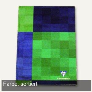 Clairefontaine Kladde - DIN A6, kariert, starker Deckel, 96 Blatt, 5 Stück