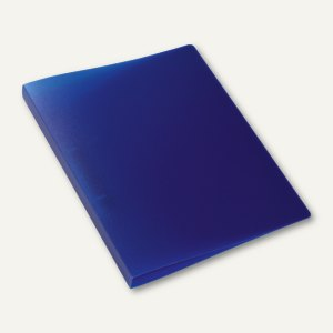 Ringbuch - A4, Rücken: 25 mm, 2-D-Ringe, PP, dunkelblau-transluzent, 3St., 19166