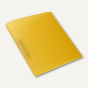 Herma Ringbuch - A4, Rücken: 25 mm, 2-D-Ringe, PP, gelb-transluzent, 3St., 19161