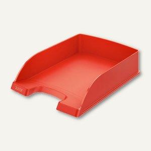 LEITZ Briefablage Plus Standard, DIN A4, hellrot, 5 Stück, 52270020