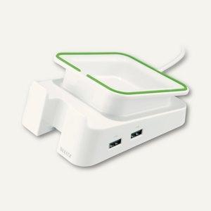 Tischständer für iPad/Tablet PC Complete, mit Ladefunktion, weiß, 6228-00-01